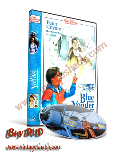 """Time Flyer aka """"The Blue Yonder"""" DVD, Huckleberry Fox, Art Carney,  and Peter Coyote"""