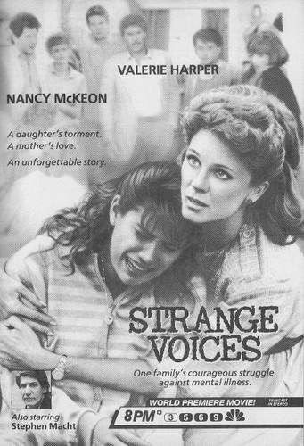 Strange voices Nancy Mckeon, Valerie Harper on DVD