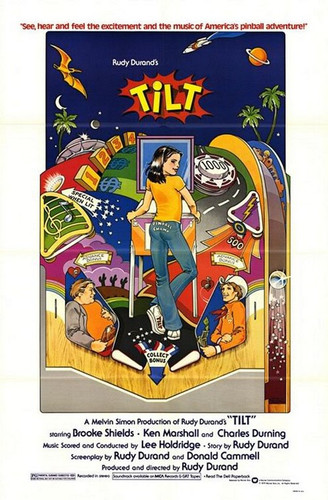 """Brooke Shields in the arcade classic movie """"Tilt"""" on DVD"""