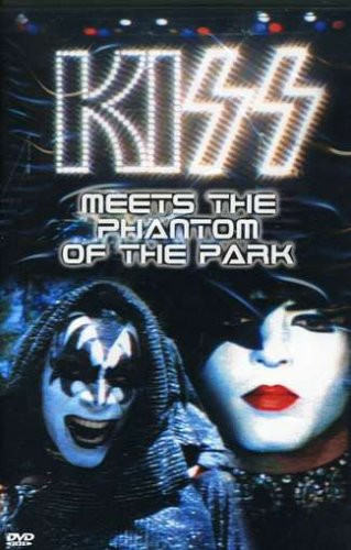 Kiss Meets the Phantom of the Park DVD