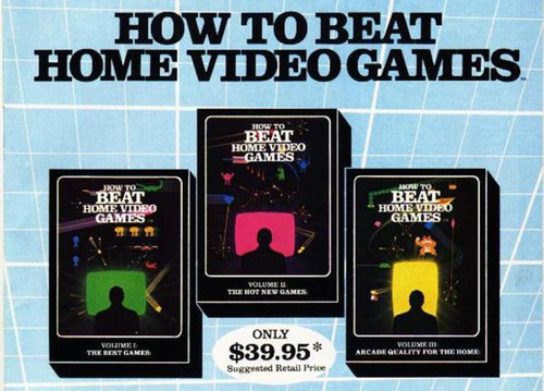 """In 1982, Vestron Video released a series of """"professional lessons in mastering home video games"""" on VHS. How to Beat Home Video Games is an 80s-tastic guide to just what it sounds like; released in three volumes, each tape covered an hour's worth of detailed hints and tricks about the biggest hits of the day."""