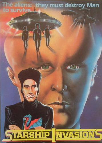 Starship Invasions DVD Christopher Lee