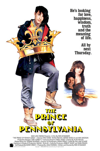 The Prince of Pennsylvania on DVD 1988 (Keanu Reeves)