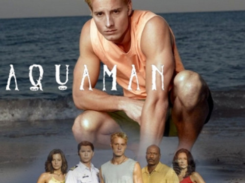 """Justin Hartley as """"Aquaman"""" in the Unaired TV Pilot"""