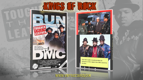 Tougher Than Leather is an American film released in 1988 and distributed by New Line Cinema. The film was directed by Rick Rubin and stars the hip-hop group Run–D.M.C. They created the film to coincide with the release of their fourth studio album also titled Tougher Than Leather.
