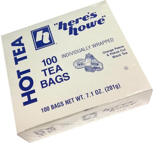 Howe Black Tea 100 count