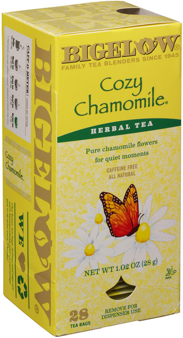 Bigelow Cozy Chamomile Herbal Tea 28 count