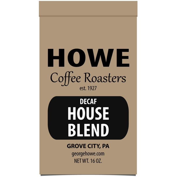 Decaf House Blend 1 lb. bag