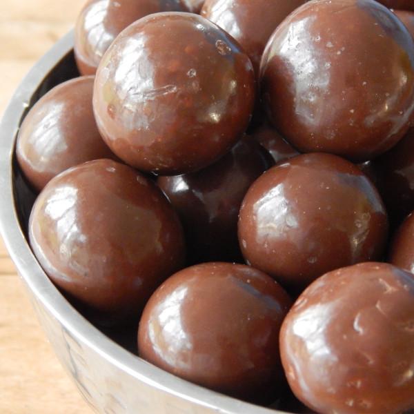 Chocolate Jumbo Malted Milk Balls 10 Oz Bag