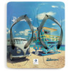 Volkswagen Campervan Beach Life Blue Flip Flops