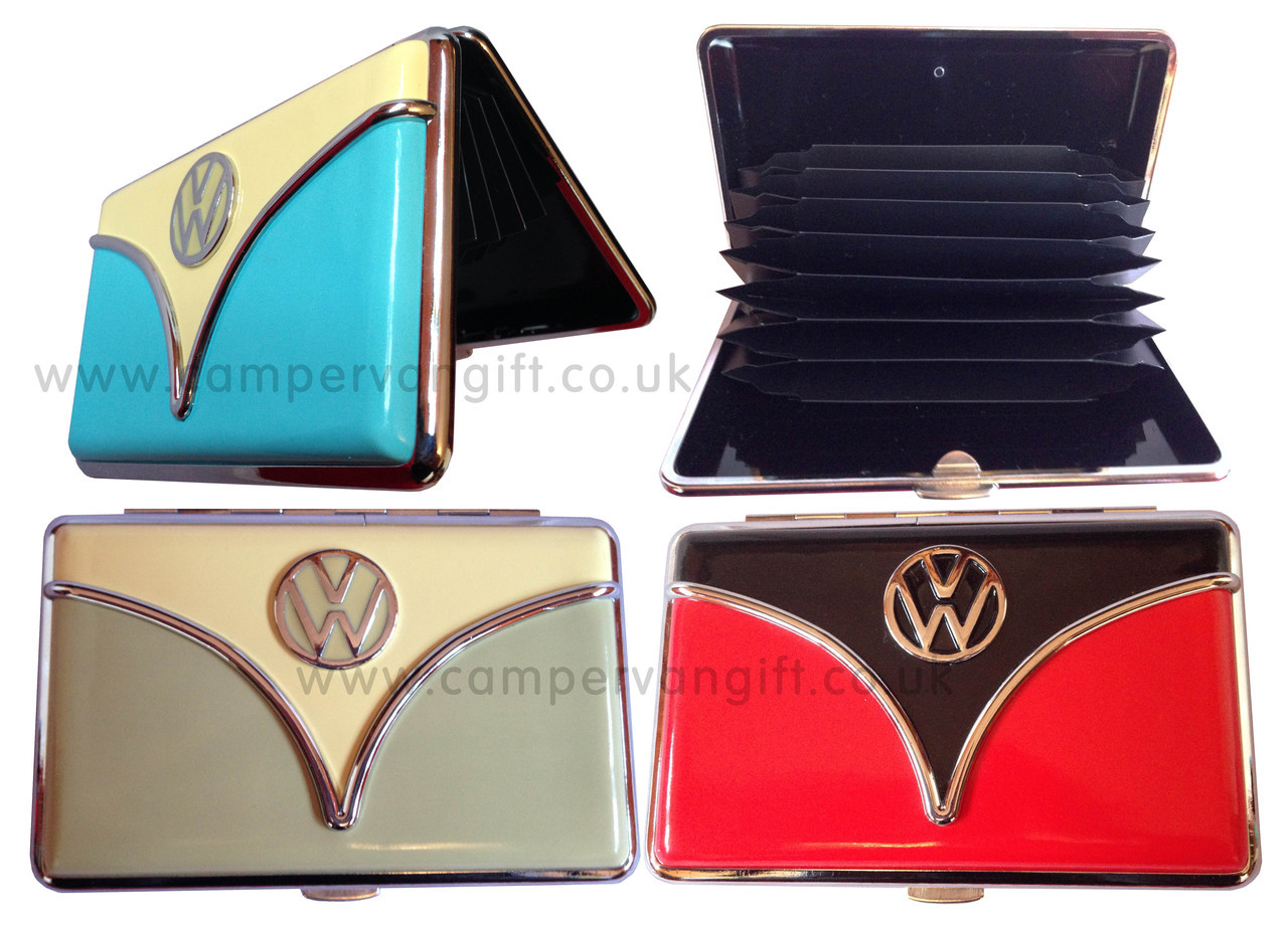 Official vw card holder perfect campervan gift to keep your bank official vw campervan card holder reheart Choice Image