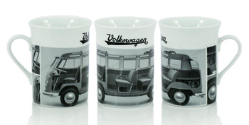 VW Campervan Monochrome Coffee Mug