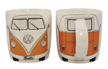Splitscreen VW Orange Campervan Mug