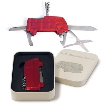 VW T1 Campervan Pocket Knife Tool - Includes Gift Tin Case