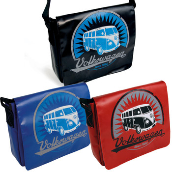 Tarpaulin VW Campervan Shoulder Bag - Small