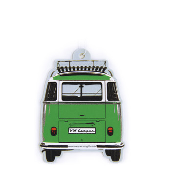 VW Campervan Air Freshener - Green Apple