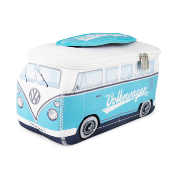 VW Turquoise Campervan Universal Neoprene Wash Bag