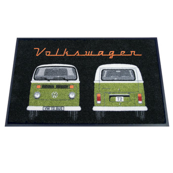 Green Bay Window Front & Rear VW Campervan Doormat