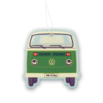 VW T2 Bay Campervan Air Freshener - Green Tea