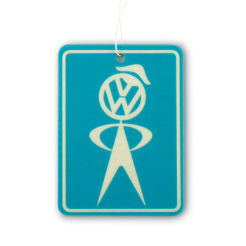 VW Mr Bubblehead Service Air Freshener - New Car