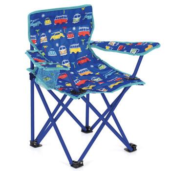 Volkswagen Campervan Kids Blue Camping Chair
