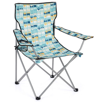 Volkswagen Campervan Blue Beach Folding Camping Chair