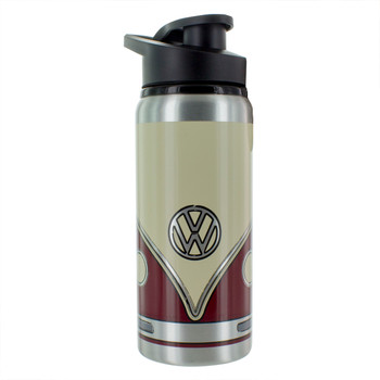 Volkswagen Aluminium Maroon Water Bottle
