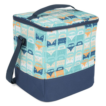 Volkswagen Campervan Blue Beach Cool Bag