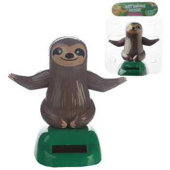 Solar Powered Dancing Sloth