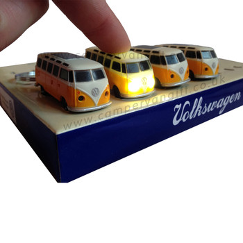 Official VW Campervan LED Torch Key Ring