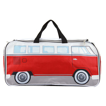 Campervan Sports & Travel Holdall Bag - Red