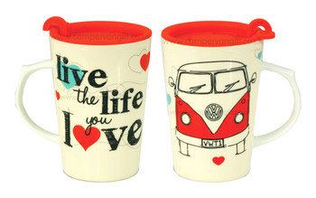 Live The Life You Love Campervan Travel Mug