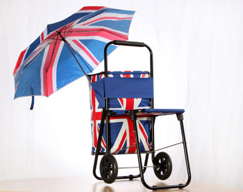 Union Jack Festival Cool Bag Trolley
