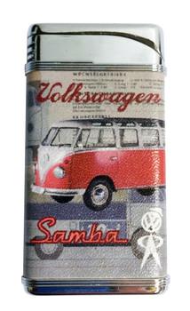 Official VW Vintage Campervan Lighter - Red