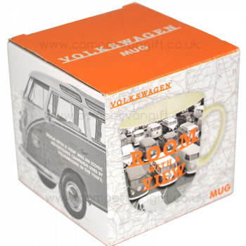 Volkswagen Room With A View Campervan Mug Presentation Box