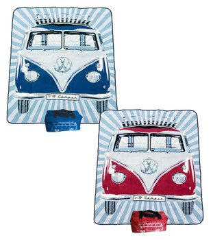 VW Campervan Picnic Blanket with Camper Carry Case