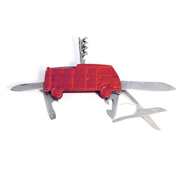 VW T1 Campervan Pocket Knife Tool - Includes Gift Tin Case