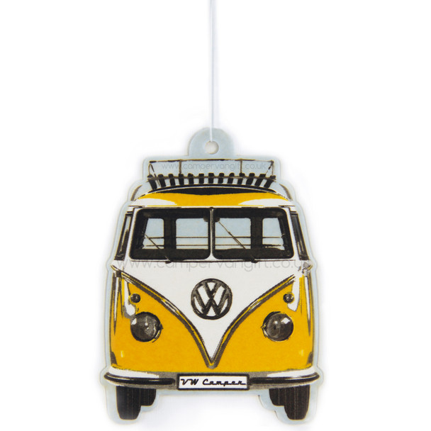 Vw Campervan Air Freshener Citrus Lemon Smells Great