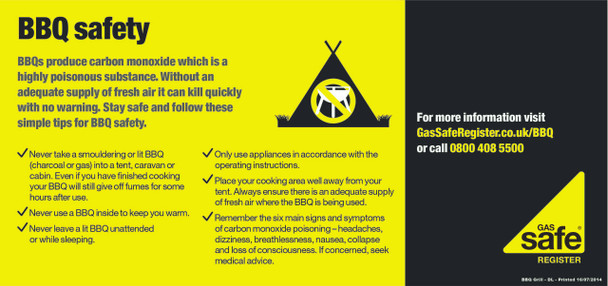 BBQ Safety - Gas Safe