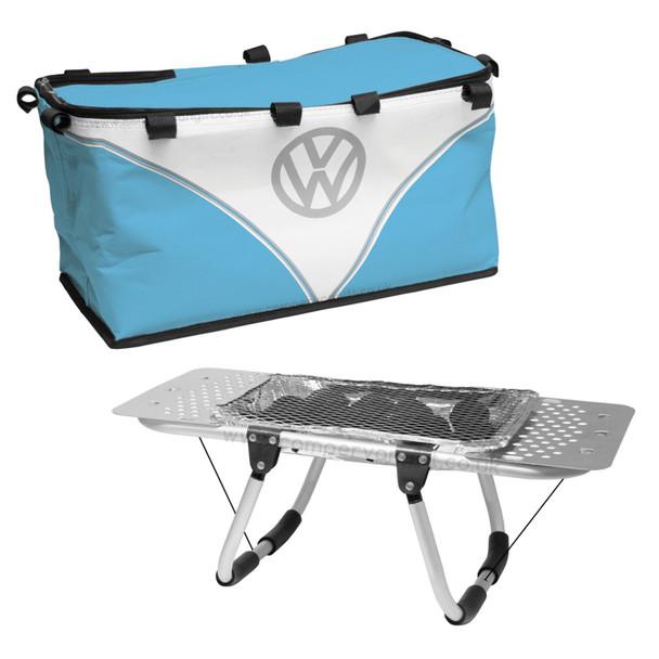 Volkswagen Campervan BBQ Hamper Set