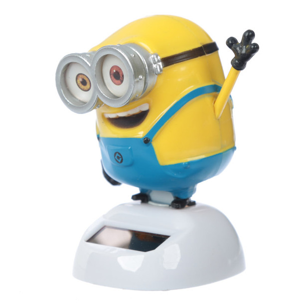 Solar Powered Dancing Minions Bob