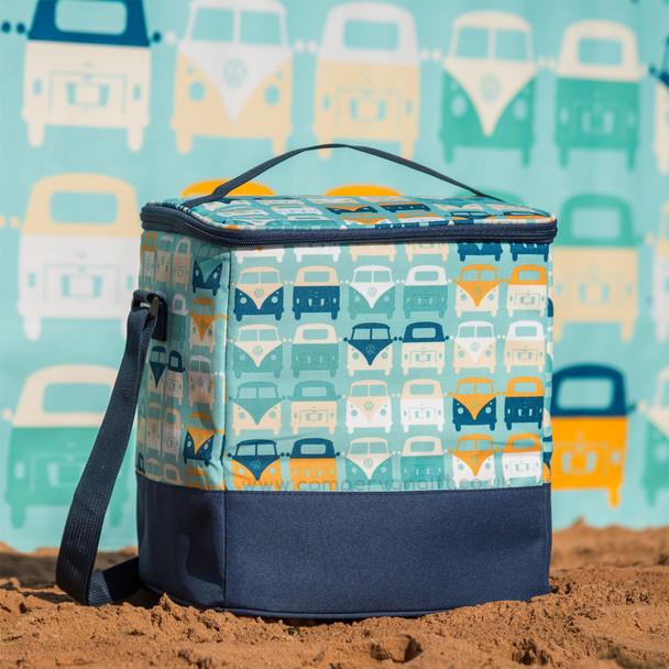 Volkswagen Campervan Blue Beach Cool Bag