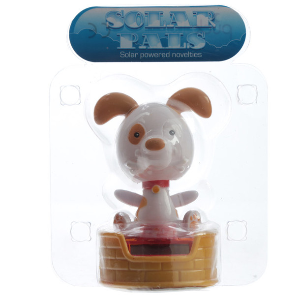 Solar Powered Dancing Dog with a Bowl