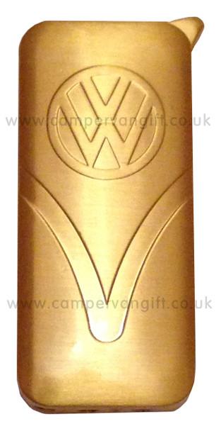 Official Gold VW Lighter - Front