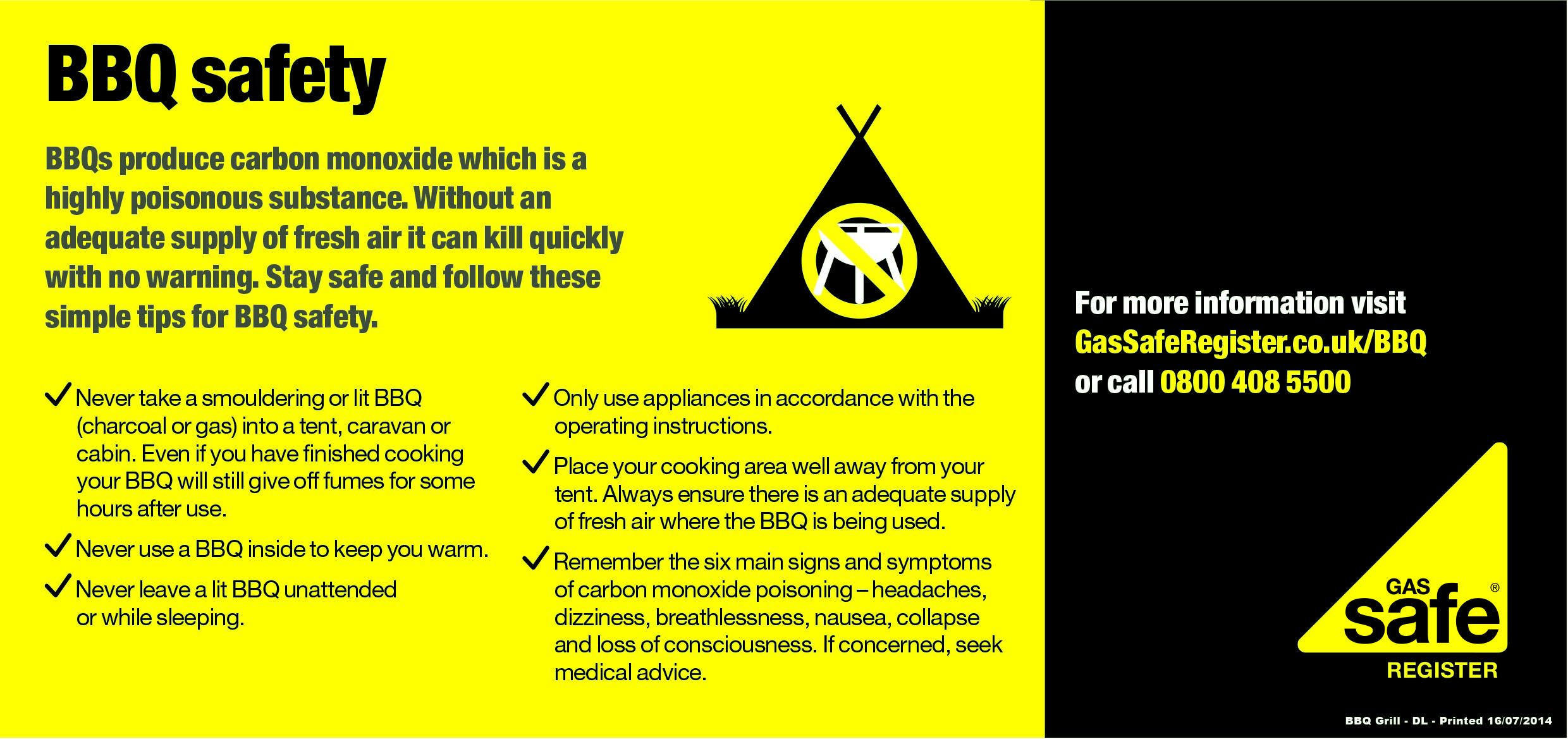 BBQ SAFETY LEAFLET