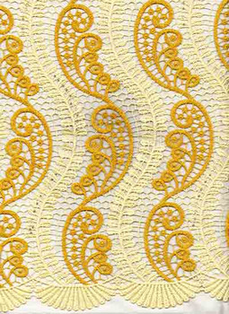 New Cord Lace 317 (Beige/Gold)