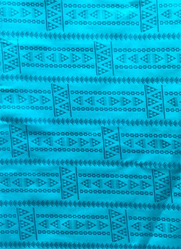 Brocade # 51 (Turquoise Blue)