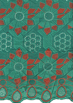Voile Lace 220 (Green)