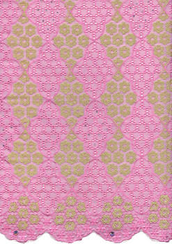 Voile Lace 243 (Pink)
