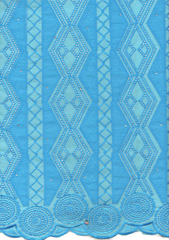 Voile Lace 247 (Turquoise Blue)